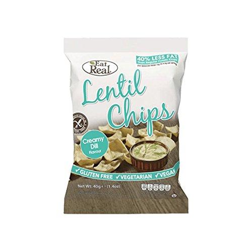 Eat Real Patatas de Lentejas con Eneldo Cremoso 40g: Amazon.es: Alimentación y bebidas