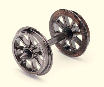 10 Piece Spoked Wheel Axles Set