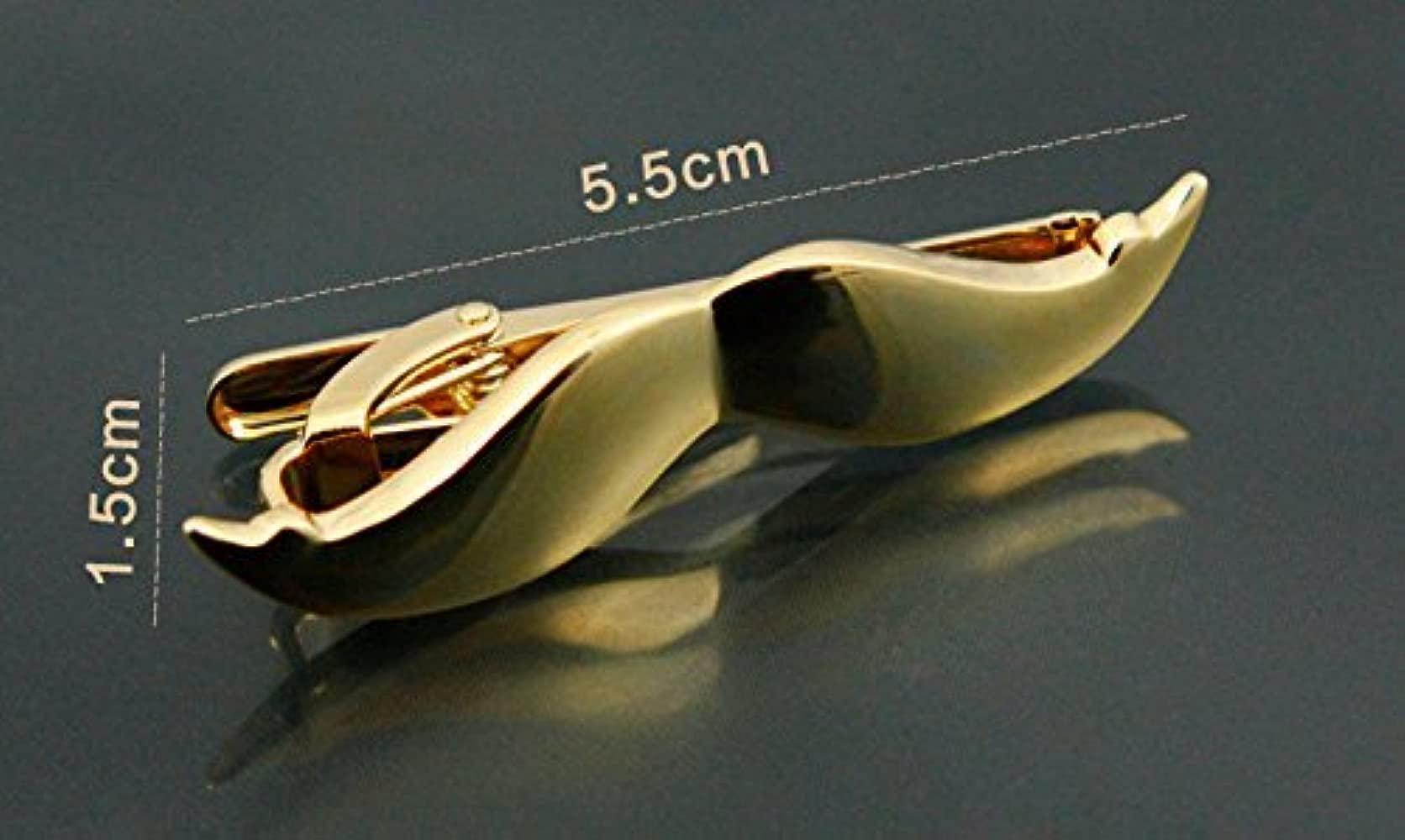 2 piezas aleación de metal para hombre moda corbata Clips Pins y ...
