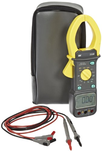 B&K Precision 350B AC Current Clamp Meter with Bar graph, 32/320/1000 A AC Current Range ()