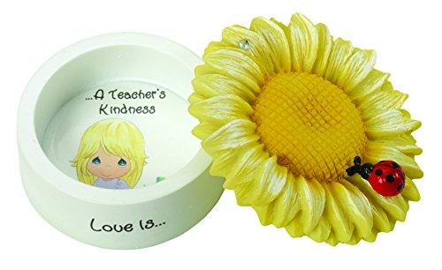 Precious Moments Love Is A Teacher's Kindness Sunflower R...