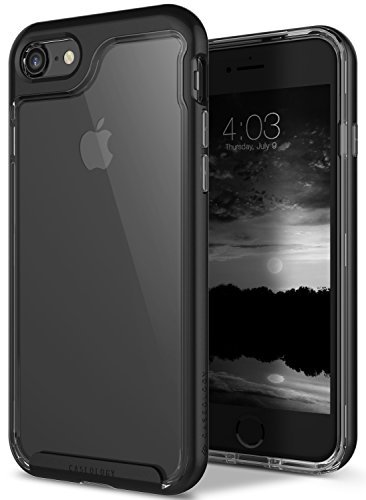 Caseology Skyfall Series iPhone 7 / 8 Cover Case with Clear Slim Protective for Apple iPhone 7 (2016) / iPhone 8 (2017) - Matte - Case Matte Transparent