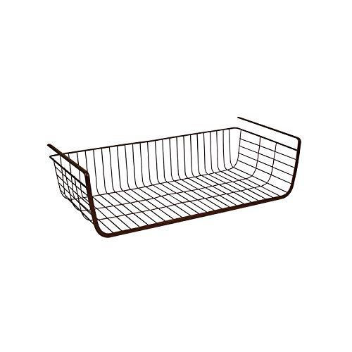Spectrum Diversified Ashley Large Cabinet Shelf Basket, Bronze