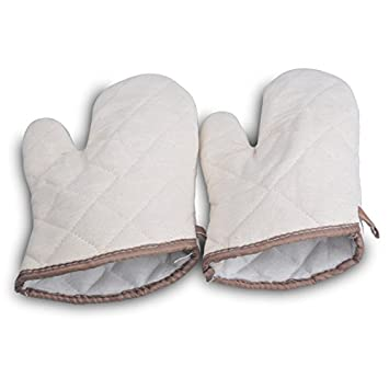 Lqchl Resistente al calor, guantes para horno Parrilla Mitt ...