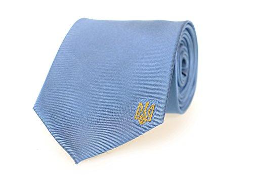 Ukraine Tie - Inspired by the Ukrainian Flag. 100% Woven Silk. Ukrainian Tie. Ukraine Necktie.
