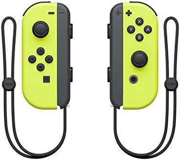 Nintendo - Set De Dos Mandos Joy-Con Izquierda Y Derecha, Color Amarillo Neón (Nintendo Switch): Amazon.es: Videojuegos