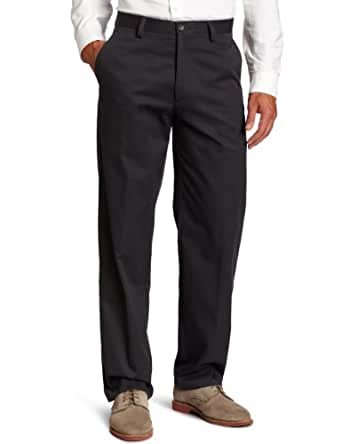 Dockers Men's Easy Khaki D3 Classic Fit Flat-Front Pant, Steelhead, 30x30