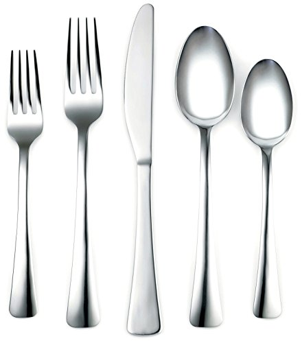 Corelle Coordinates Naomi Mirror 20-Piece Flatware Set, Service for 4