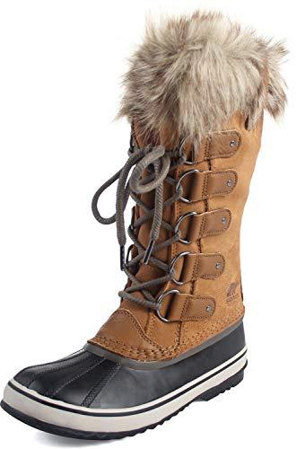 Sorel Joan of Arctic Fur Waterproof Suede Boot, 5, Brown from Sorel