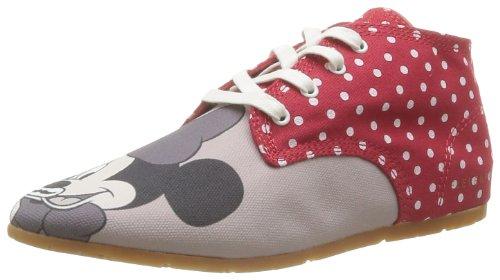 Eleven Paris Basmous, Damen Oxford Schnürhalbschuhe Rot - Rouge (Minnie Dots)
