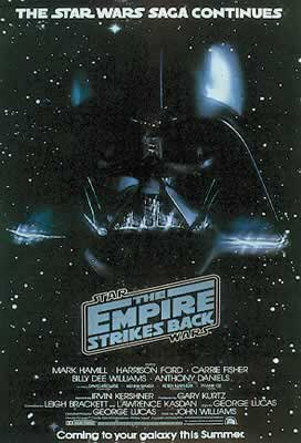Star Wars: Episode V - The Empire Strikes Back - Movie Poster: Advance 'A' (Size: 27'' x ()