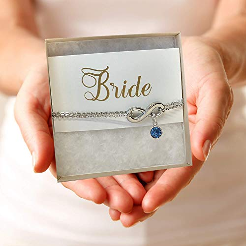 - Something Blue for Bride (Bride Anklet)