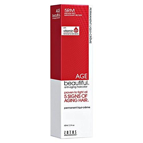 Mahogany Soft Foundation (AGEbeautiful 5RM Medium Red Mahogany Brown Permanent Liqui-Creme Hair Color 5RM Medium Red Mahogany Brown)