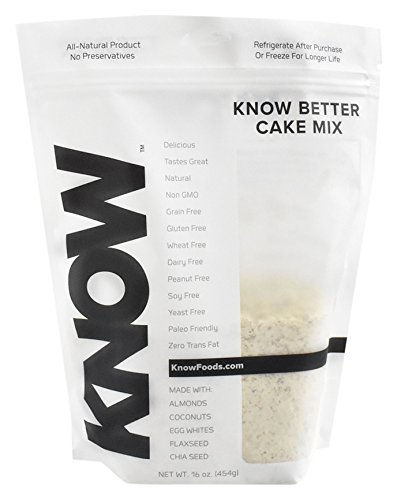 KNOW Foods Gluten Free Muffin & Cake Mix, Classic, 454 Gram by KNOW Foods