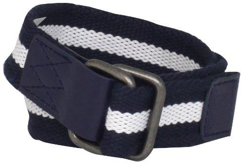 Kitestrings Little Boys' Rectangle-Ring Webbing Belt, Peacoat Navy, Small