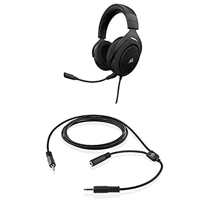 Amazon com: CORSAIR HS50-Stereo Gaming Headset-Discord Certified
