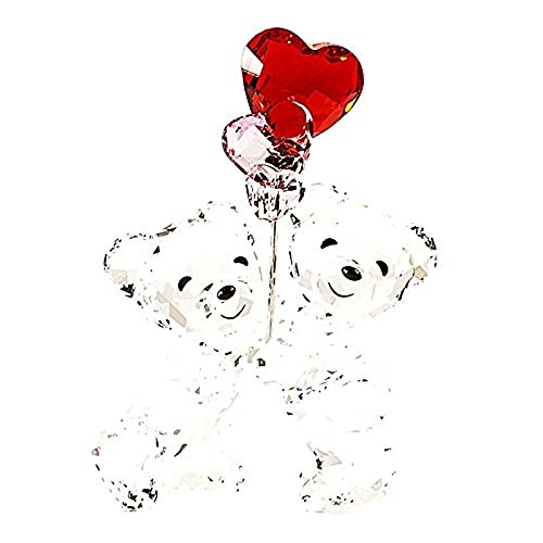 Swarovski Kris Bear, Heart Balloons