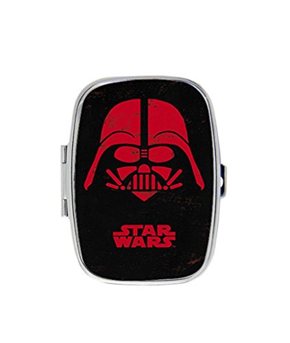 Darth Vader Face Personalized Custom HOT Sale stainless steel Pill Case Box Medicine Organizer Gift (Darth Vaders Face)