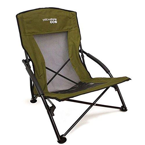 Adventurer Folding Chair – グリーン – イエローストーン B01MQLTKK2