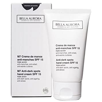 BELLA AURORA - CREMA MANOS ANTI-MANCHAS - SPF 15 - 75 ml