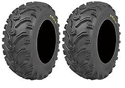 Pair of Kenda Bear Claw (6ply) ATV Tires [23x8-11] (2)