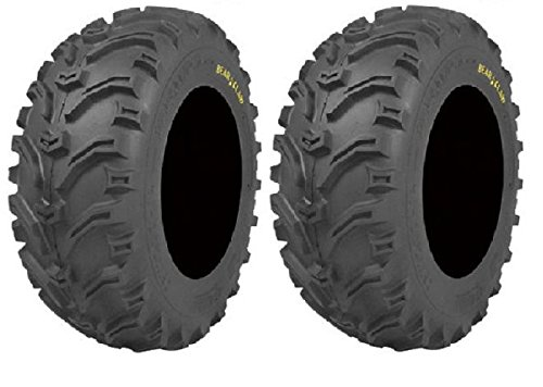 Pair of Kenda Bear Claw (6ply) ATV Tires [23x8-11] (2) by Powersports Bundle