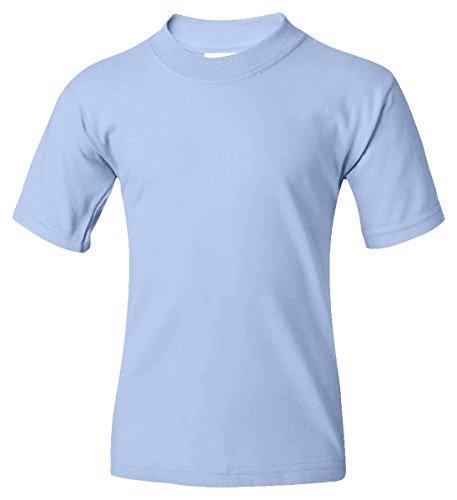 Jerzees boys HiDENSI-T T-Shirt(363B)-LIGHT BLUE-XS