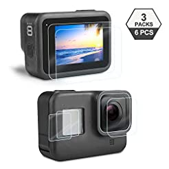 Screen Protector for GoPro Hero 8 Black,...