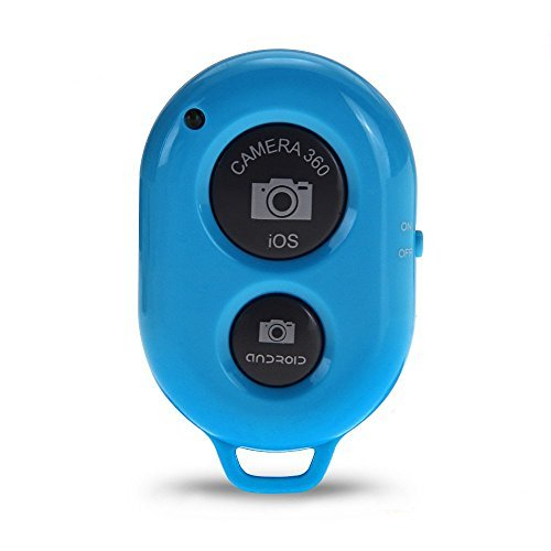 Bluetooth Trigger - TOOGOO(R)Bluetooth Trigger for Shutter Release SELF TIMER 10m range for iPhone Blue by TOOGOO(R) (Image #2)