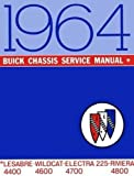 1964 Buick Shop Manual Riviera Wildcat LeSabre Electra Invicta Repair Service