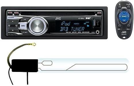 Jvc Kd Db52 Dab Digital Autoradio Mit Antenne Zur Elektronik