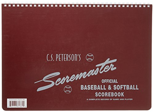 Innings Scorebook - Cramer Scorebook, C.S. Peterson's Scoremaster, Baseball and Softball