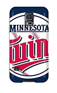 Hot Design Premium XicImox371PzBTf Tpu Case Cover Galaxy S5 Protection Case(minnesota Twins )