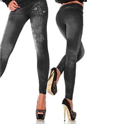 Gale Hayman Damen Leggings schwarz schwarz One size