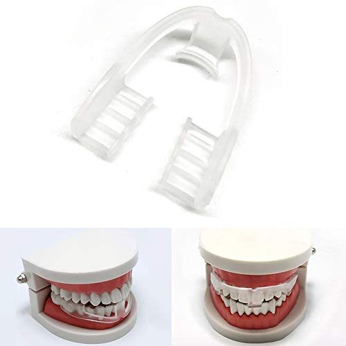 (Anti Grinding Teeth Guard for Kids Adults Pack of 3 Food Grade Night Guard for Sleep (White))