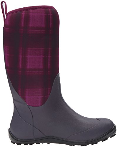 Columbia Womens Snowpow Tall Print Omni-heat Snow Boot Viola Intenso / Melonade