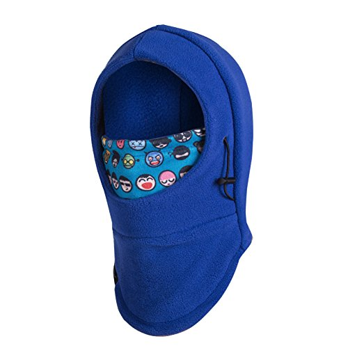Youth Balaclava (Zerdocean Kid's Winter Thick Thermal Cycling Ski Windproof Balaclava Blue)
