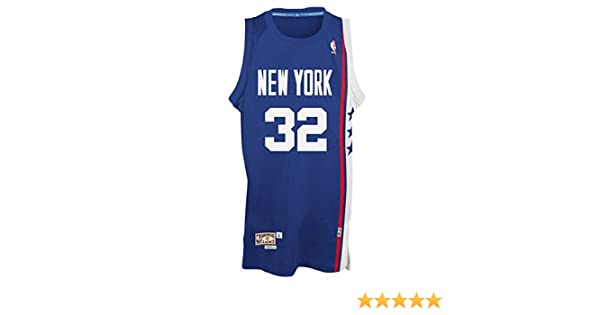 764514de Amazon.com : Julius Erving New York Nets Adidas NBA Throwback Swingman  Jersey - Blue : Clothing