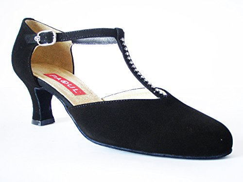 PERICOLI negro Zapatillas danza OSVALDO para de mujer axB8gwgd