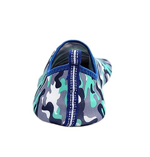 Chaussures Deau Vague Piscine Plage Nager Aqua Chaussettes Yoga Mens Sport Dexercice Glisser Sur Pour Santimon Coloré Gris