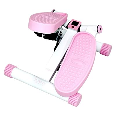 Sunny Health & Fitness Pink Adjustable Twist Stepper by Sunny Distributor Inc