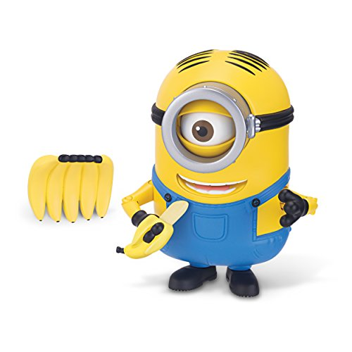 Minions Deluxe Action Figure - Banana Munching Stuart
