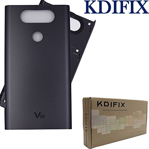 KDIFIX Back Cover Battery Door Housing Case Replacement - FOR LG V20 VS995 US996 LS997 H990 H910 H915 H918 ()