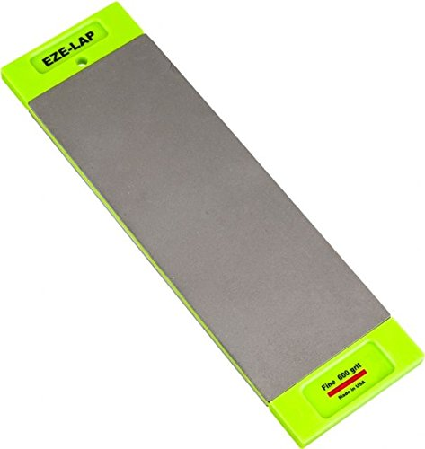(EZE-LAP DD8SF/F 3 by 8 Double Sided Diamond Sharpening Stone SF/F, Non Skid Pad Included)