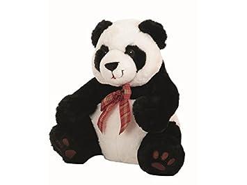 Peluche Oso Panda Lazo Cuadros 35 cm Llopis 10467