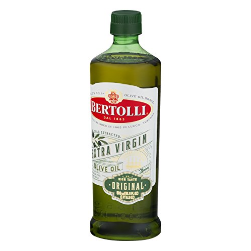 BERTOLLI Extra Virgin Olive Oil Organic Original Rich Taste (1-Bottle) (Net wt 16.9 FL OZ)