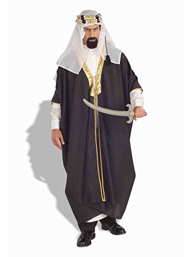 Forum Novelties Men's Arab Sheik Costume, Multi, -