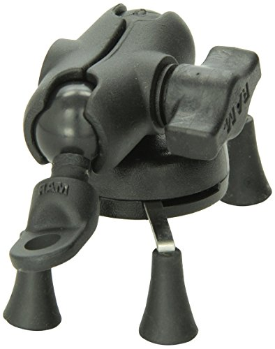 RAM MOUNTS (RAM-B-272-A-UN7 9 mm Angled Base Motorcycle Mount with Short Double Socket Arm and...