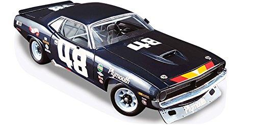1970 Plymouth Trans Am Cuda #48 Dan Gurney Limited Edition to 1236 pieces Worldwide 1/18 Diecast Model Car by Acme A1806101 -
