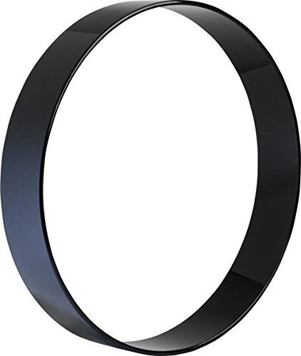 Sound Percussion Labs Extended Resonant Side Bass Drum Hoop 22 x 4 Piano Black